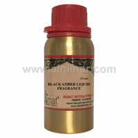 Picture of Black Amber Liquid 12 ML - Concentrated Fragrance Oil by Nemat