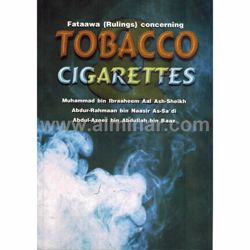 Picture of Fataawas (Rulings) Concerning Tobacco Cigarettes