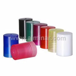 Picture of Green - 1000 Pcs - 10mm Plastic Cap for Rollon Bottles