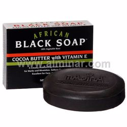 Picture of African Black Soap cocoa Butter 3.5oz