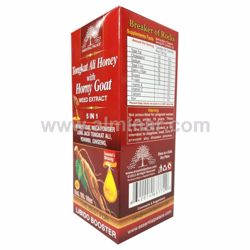 Picture of Tongkat Ali Honey With Honey Goat Weed Extract 5 in1. 16 OZ, 100% pure.