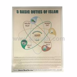 Picture of ive Basic Duties of Islam - Poster - Medium Size