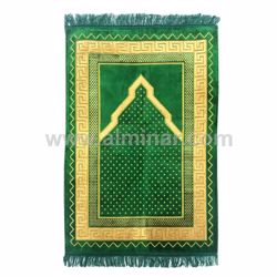 Picture of Turkish Prayer Rug Single 70cm x 110cm - 450gm