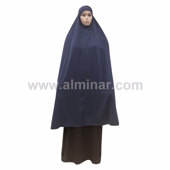"Picture of Overhead Hijab - 57"" Long - Dark Blue"
