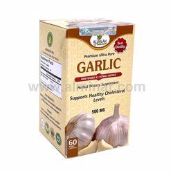 Picture of Garlic 4:1 Premium Extract Capsules - 500mg [60 Capsules] [Halal/Vegetarian]