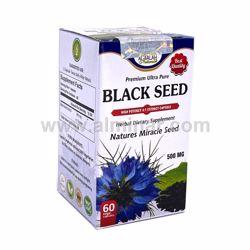 Picture of Black Seed 4:1 Premium Extract Capsules - 500mg [60 Capsules] [Halal/Vegetarian]
