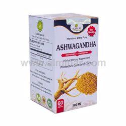 Picture of Ashwagandha 4:1 Premium Extract Capsules - 500mg [60 Capsules] [Halal/Vegetarian]